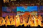 Tang Dynasty (618-907) Dance and Music Show at the Sunshine Grand Theatre,Xian City,Shaanxi Province,China Stock Photo - Premium Rights-Managed, Artist: AWL Images, Code: 862-03351060