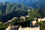 Great Wall of China at Badaling. First built during the Ming dynasty (1368-1644) and restored in the 1980s at the Unesco World Heritage Site near Beijing Stock Photo - Premium Rights-Managed, Artist: AWL Images, Code: 862-03351127