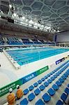 China,Beijing. The Water Cube National Aquatics Center swimming arena in the Olympic Park. Stock Photo - Premium Rights-Managed, Artist: AWL Images, Code: 862-03351506