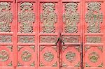 China,Yunnan province,Dali Old Town. Decorated door panels Stock Photo - Premium Rights-Managed, Artist: AWL Images, Code: 862-03351717