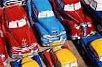 Handicraft market and classic car models for sale in World Heritage town of Trinidad,Eastern Cuba Stock Photo - Premium Rights-Managed, Artist: AWL Images, Code: 862-03352492