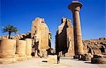 The massive columns of the Temple of Karnak Stock Photo - Premium Rights-Managed, Artist: AWL Images, Code: 862-03352694