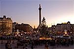 Carol singers under the Christmas tree in Trafalger Square Stock Photo - Premium Rights-Managed, Artist: AWL Images, Code: 862-03353271