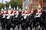 Household Cavalry ride past during the Lord Mayor's Show. Stock Photo - Premium Rights-Managed, Artist: AWL Images, Code: 862-03353292