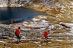 England,Cumbria,Lake District. Winter fell-walking in the Lake District National Park. Stock Photo - Premium Rights-Managed, Artist: AWL Images, Code: 862-03353450