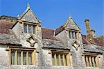 England,Dorset. Athelhampton is one of the finest examples of 15th century manor houses in England. Medieval in style predominantly and surrounded by walls,water features and secluded courts. Stock Photo - Premium Rights-Managed, Artist: AWL Images, Code: 862-03353609