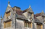 England,Dorset. Athelhampton House is one of the finest examples of 15th century domestic architecture in the country. Medieval in style predominantly and surrounded by walls,water features and secluded courts. Stock Photo - Premium Rights-Managed, Artist: AWL Images, Code: 862-03353622