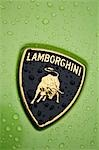 Logo on luxury Lamborghini sports car Stock Photo - Premium Rights-Managed, Artist: AWL Images, Code: 862-03353733