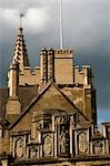 UK,England,Oxford. The Magdalen College in Oxford seen from High Street. Stock Photo - Premium Rights-Managed, Artist: AWL Images, Code: 862-03353848