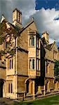 UK,England,Oxford. The Magdalen College in Oxford seen from High Street. Stock Photo - Premium Rights-Managed, Artist: AWL Images, Code: 862-03353849