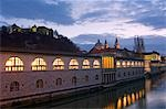 Central Market Building over River Ljubljanica Stock Photo - Premium Rights-Managed, Artist: AWL Images, Code: 862-03354171