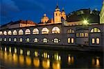 Central Market Building River Ljubljanica Stock Photo - Premium Rights-Managed, Artist: AWL Images, Code: 862-03354172