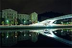 Pedro Arrupe Bridge and State Building Stock Photo - Premium Rights-Managed, Artist: AWL Images, Code: 862-03354443