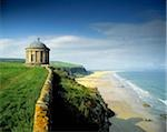 Mussenden Temple on the Downhill Estate in Ireland Stock Photo - Premium Rights-Managed, Artist: IIC, Code: 832-03358558