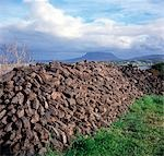 Heap of peat, Co. Donegal, Ireland Stock Photo - Premium Rights-Managed, Artist: IIC, Code: 832-03358609