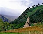 Chapel of Saint Kevin at Glendalough, Glendalough, Co Wicklow, Ireland Stock Photo - Premium Rights-Managed, Artist: IIC, Code: 832-03358615