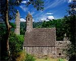 Chapel of Saint Kevin at Glendalough, Glendalough, Co Wicklow, Ireland Stock Photo - Premium Rights-Managed, Artist: IIC, Code: 832-03358616