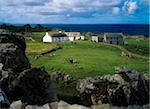Farm buildings at Malin Head, Co Donegal, Ireland. Stock Photo - Premium Rights-Managed, Artist: IIC, Code: 832-03358836