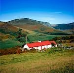 Traditional Cottages, Lough Dan, Co Wicklow Stock Photo - Premium Rights-Managed, Artist: IIC, Code: 832-03359011