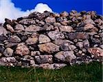 Traditional Stone Wall, Connemara, Co Galway, Ireland Stock Photo - Premium Rights-Managed, Artist: IIC, Code: 832-03359030
