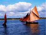 Traditional Boats, Galway Hooker, Co Donegal Stock Photo - Premium Rights-Managed, Artist: IIC, Code: 832-03359102