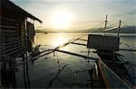 Philippines,Palawan,Puerto Princessa. Silhouette of fishing boat at sunset. Stock Photo - Premium Rights-Managed, Artist: AWL Images, Code: 862-03360812