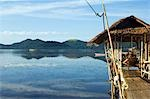 Philippines,Palawan Province,Busuanga Island,Coron Town. Waterfront stilt houses. Stock Photo - Premium Rights-Managed, Artist: AWL Images, Code: 862-03360829