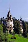 Romania,Transylvania,Sinaia. The Tower of Peles Castle. Stock Photo - Premium Rights-Managed, Artist: AWL Images, Code: 862-03360986