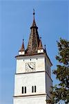 Romania,Transylvania,Harman. The Tower of the UNESCO protected fortified church. Stock Photo - Premium Rights-Managed, Artist: AWL Images, Code: 862-03360987