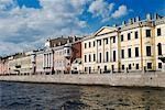 Russia,St Petersburg. Buildings on the Fontanka River. Stock Photo - Premium Rights-Managed, Artist: AWL Images, Code: 862-03361030