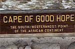 Cape of Good Hope sign Stock Photo - Premium Rights-Managed, Artist: AWL Images, Code: 862-03361096