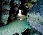 Rock tunnel at Traigh Mhor,North Lewis,Isle of Lewis Stock Photo - Premium Rights-Managed, Artist: AWL Images, Code: 862-03361387