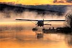 Floatplane sitting on Beluga Lake, Homer, Kenai Peninsula, Alaska Stock Photo - Premium Rights-Managed, Artist: AlaskaStock, Code: 854-03362311