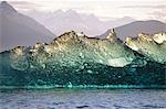 Columbia  Glacier ice berg that broke loose from the ocean bottom of over 1,000 feet deep, which gives the berg a clear appearance, Prince William Sound, Alaska Stock Photo - Premium Rights-Managed, Artist: AlaskaStock, Code: 854-03362486