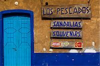 Colourful doorway and shop sign in Jalcomulco. Stock Photo - Premium Rights-Managednull, Code: 862-03364384