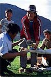 Mongolia,Khovd (also spelt Hovd) aimag (region),shoeing a pony Mongolian style. Stock Photo - Premium Rights-Managed, Artist: AWL Images, Code: 862-03364513
