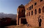 The part-ruined Glaoui kasbah at Telouet Stock Photo - Premium Rights-Managed, Artist: AWL Images, Code: 862-03364567