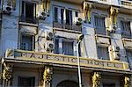 The Art Deco facade of the landmark Hotel Majestic on Avenue Lalla Yacout,Casablanca. Stock Photo - Premium Rights-Managed, Artist: AWL Images, Code: 862-03364648