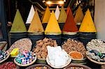 Spice stand in Medina Market