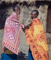 Two Maasai women deep in conversation. Stock Photo - Premium Rights-Managednull, Code: 862-03366168