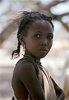 An attractive young girl from the nomadic Gabbra tribe. Stock Photo - Premium Rights-Managednull, Code: 862-03366294