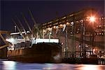 Ocean Liner, Vancouver Wharves, Port of Vancouver, Vancouver, British Columbia, Canada