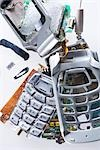 Broken and Smashed Cell Phone Stock Photo - Premium Rights-Managed, Artist: Ron Fehling, Code: 700-03368693