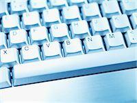 Computer keyboard space bar Stock Photo - Premium Royalty-Freenull, Code: 635-03372871