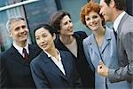 Group of business executives, portrait Stock Photo - Premium Royalty-Freenull, Code: 695-03374485