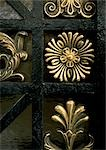 Brass floral motif, close-up Stock Photo - Premium Royalty-Freenull, Code: 695-03380809