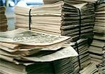 Bundles of newspapers. Stock Photo - Premium Royalty-Free, Artist: Susan Findlay, Code: 695-03380951
