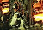 Rolling mill, close-up Stock Photo - Premium Royalty-Free, Artist: Arcaid, Code: 695-03381560