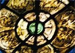 Stained-glass window, close-up, blurred Stock Photo - Premium Royalty-Free, Artist: Photocuisine, Code: 695-03382281