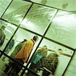 People walking through corridor, viewed through mirror. Stock Photo - Premium Royalty-Free, Artist: Rolf Bruderer, Code: 695-03382576